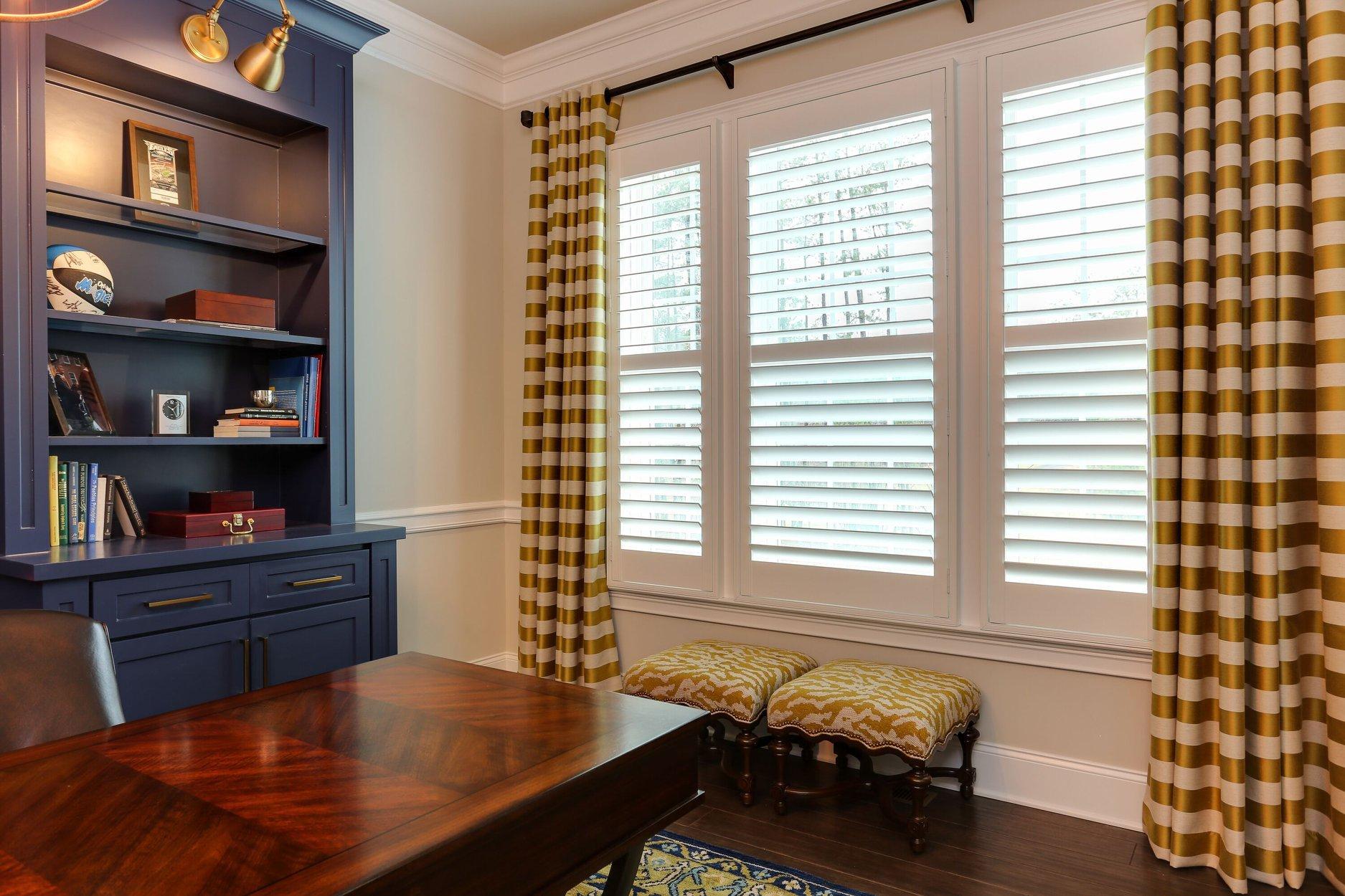 Combining Window Treatment Styles